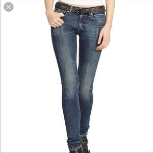 Ralf Lauren Thompson 650 Straight Leg Jeans